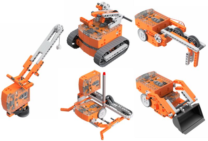 Meet Edison Downloads - A Cheap Programmable Lego Robot Kit