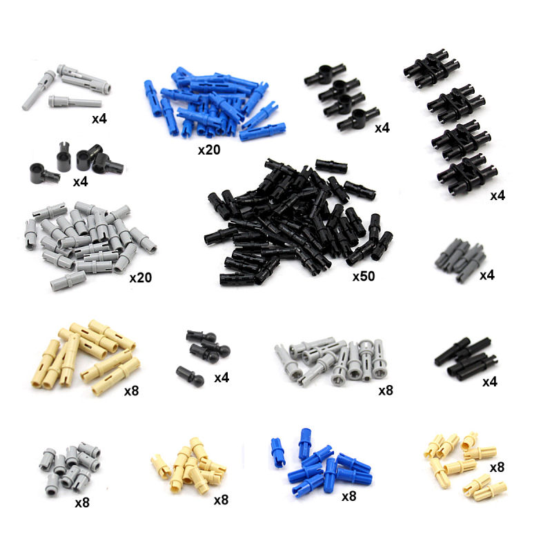 Lego Technic Packs - Lego Gear Packs, Lego Pin Packs, Lego
